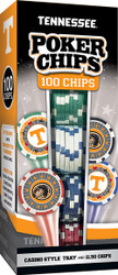 Tennessee 100 Piece Game Chips