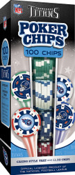 Tennessee Titans 100 Piece Game Chips
