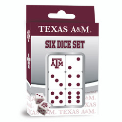 Texas A & M Dice Pack