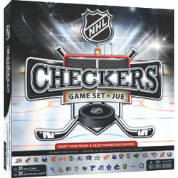 NHL League Checkers Board Game