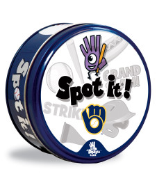Milwaukee Brewers Spot It! Card Game