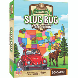 National Park Jr Ranger Games - Slug Bug State-cation