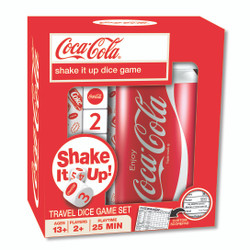 Coca-Cola Shake it Up! Travel Dice Game