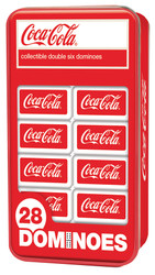 Coca-Cola Double-Six Dominoes