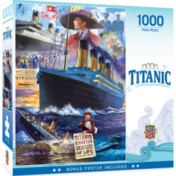 The Titanic Collection - Titanic Collage 1000 Piece Jigsaw Puzzle