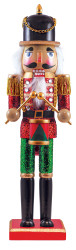 Holiday Painted Collectibles - Drummer Nutcracker