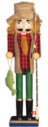 Painted Collectibles - Fisherman Nutcracker