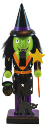 Halloween Painted Collectibles - Witch Nutcracker