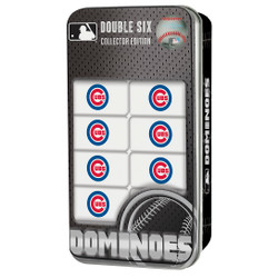 Chicago Cubs Double-Six Dominoes