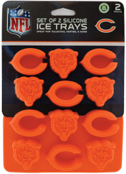 Chicago Bears Ice Trays 2-Pack