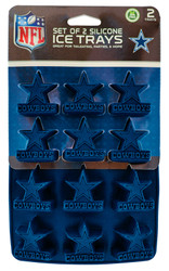 Dallas Cowboys Ice Trays 2-Pack