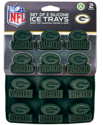 Green Bay Packers Ice Trays 2-Pack
