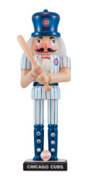 Chicago Cubs Painted Nutcracker