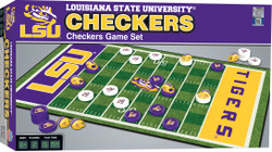 LSU Checkers Board Game