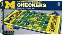 Michigan Checkers Board Game