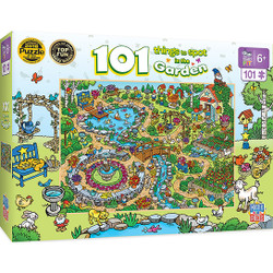 101 Things to Spot in the Garden - Right Fit - 101 Piece Kids Puzzle
