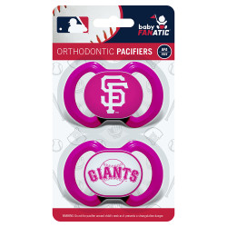 San Francisco Giants 2-Pack Pink Pacifier