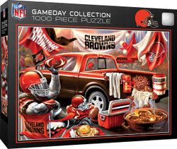 NFL Cleveland Browns Gameday 1000 Piece Puzzle