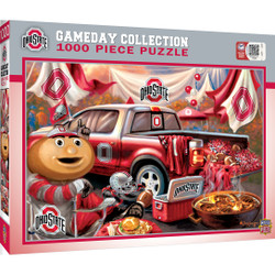 NCAA Ohio State Gameday 1000 Piece Puzzle
