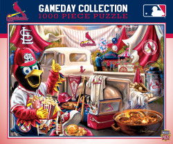 MLB St. Louis Cardinals Gameday 1000 Piece Puzzle