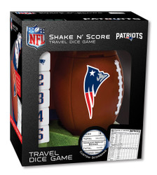 New England Patriots Shake n Score Travel Dice Game