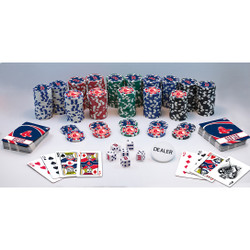 MLB Boston Red Sox 300 Piece Game Chips Set