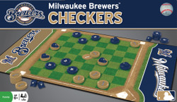 Milwaukee Brewers Checkers Board Game