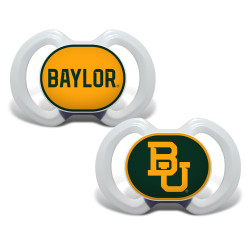 Baby Fanatic NCAA Baylor  2-Pack Pacifiers