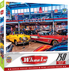 Wheels - The Showcase - 750 Piece Jigsaw Puzzle