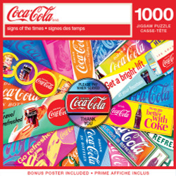 Coca-Cola - Signs of the Times 1000 Piece Puzzle