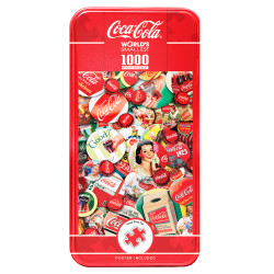 Coca-Cola - Worlds Smallest 1000 Piece Puzzle in a Tin
