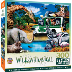 Wild & Whimsical - Watering Hole 300 Piece EzGrip Puzzle