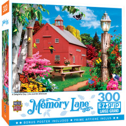Memory Lane - A Delightful Day 300 Piece EzGrip Puzzle