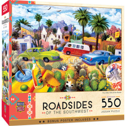 Roadsides of the Southwest - The Other Side of the Border 550 Piece Puzzle