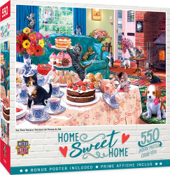 Home Sweet Home - Tea Time Terrors 550 Piece Puzzle