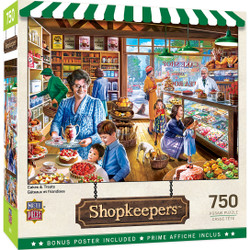 Shopkeepers - Cakes & Treats 750 Piece Puzzle