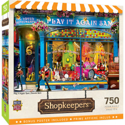 Shopkeepers - Play It Again Sam 750 Piece Puzzle