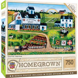 Homegrown - Amish Frolic 750 Piece Puzzle
