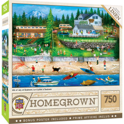 Homegrown - 4th of July at Seabeck 750 Piece Puzzle