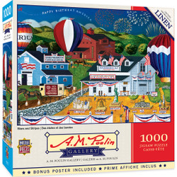 A. M. Poulin - Stars and Stripes 1000 Piece Puzzle