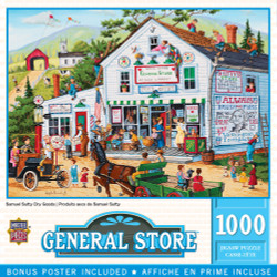 General Store - Samuel Sutty Dry Goods 1000 Piece Puzzle
