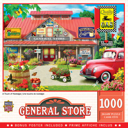 General Store - A Touch of Nostalgia 1000 Piece Puzzle