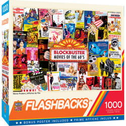 Flashbacks - Movie Posters 1000 Piece Puzzle