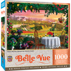 Belle Vue - Tuscany Hills View 1000 Piece Puzzle