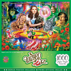 The Wizard of Oz - Magical Land of Oz 1000 Piece Puzzle