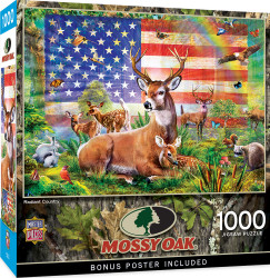 Mossy Oak - Radiant Country 1000 Piece Puzzle