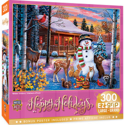 Holiday - Winter Visitors 300 Piece EzGrip Puzzle