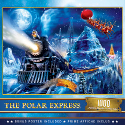 The Polar Express - Race to the Pole 1000 Piece Puzzle