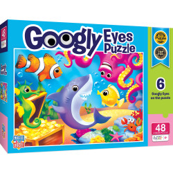 Googly Eyes - Lil Shark 48 Piece Puzzle
