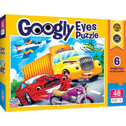 Googly Eyes - Vehicles 48 Piece Puzzle